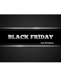 BLACK FRIDAY and WEEKEND. 25-27 Νοεμβρίου